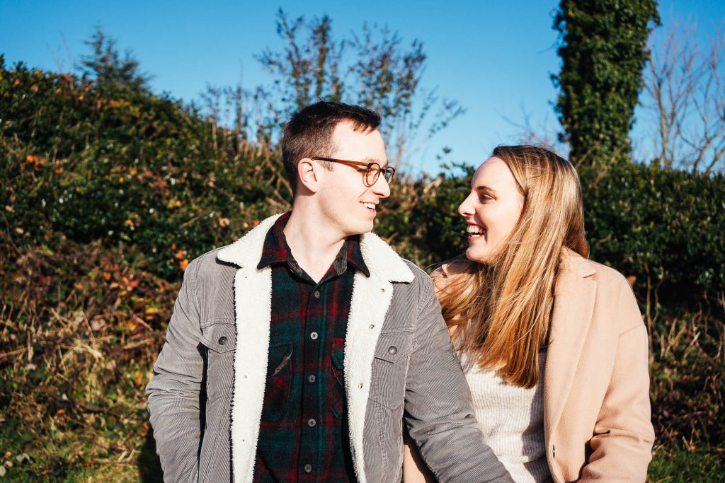 Relaxed Surrey engagement photography