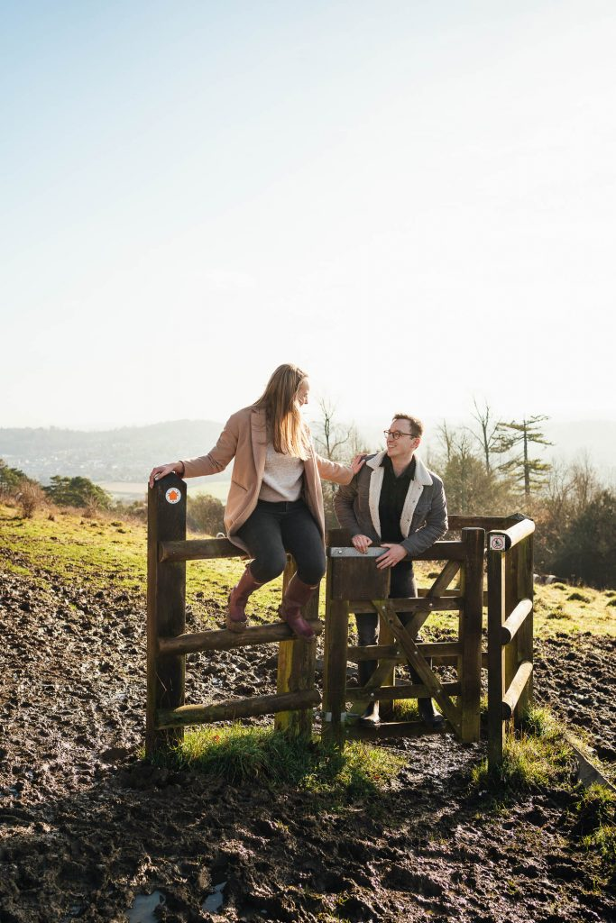 Ranmore Common Engagement Shoot Surrey