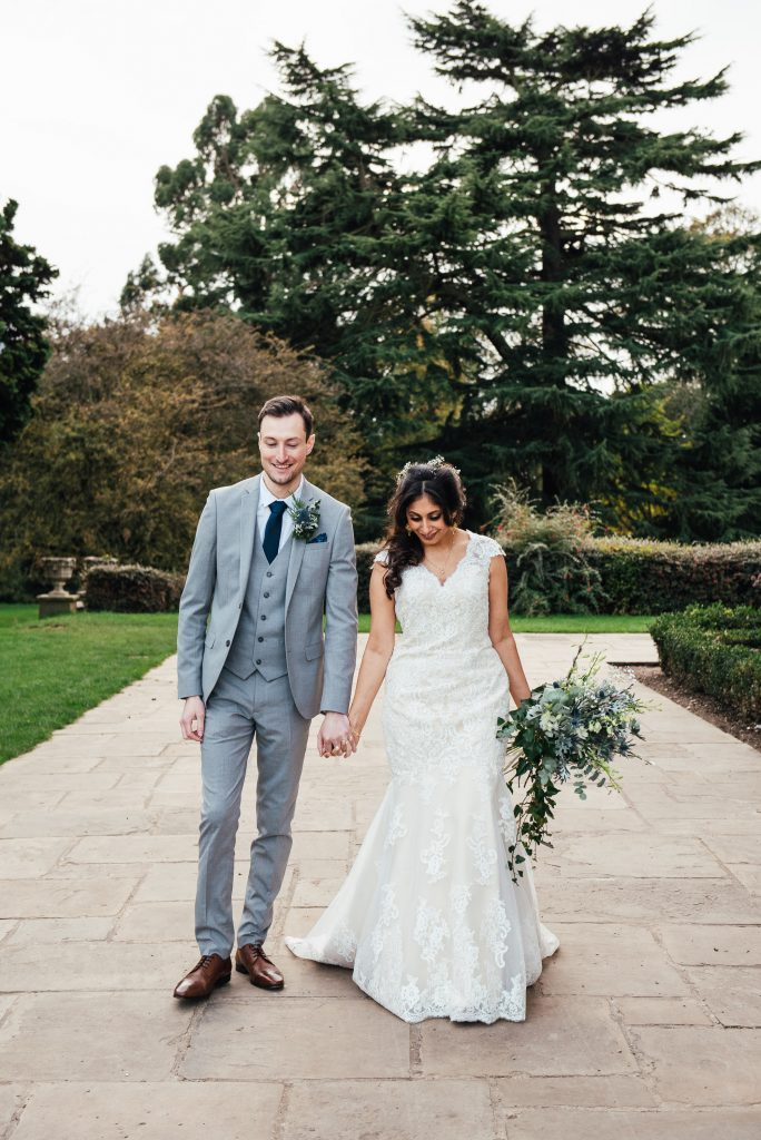 Natural Forty Hall wedding photography