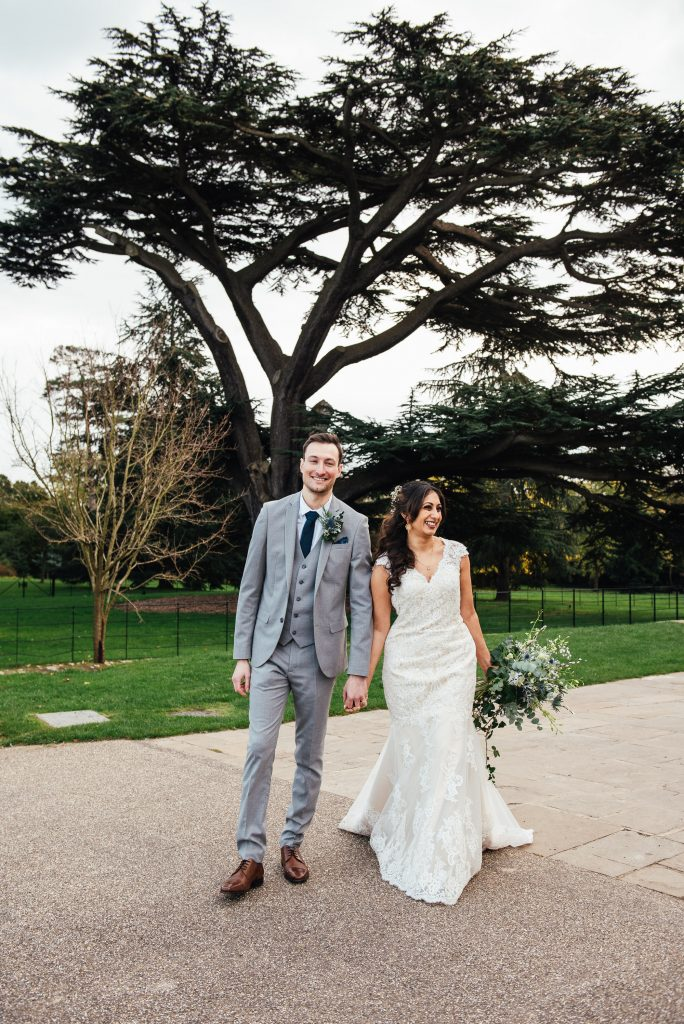 Candid Forty Hall wedding photography