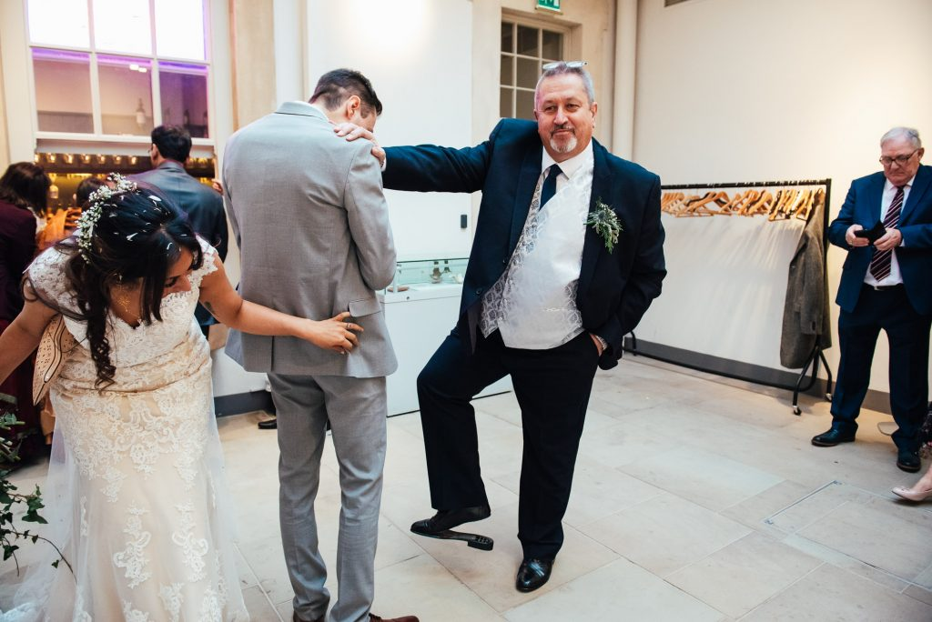 Candid and fun documentary wedding photography
