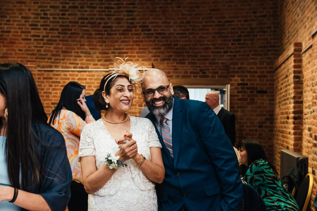 Candid and relaxed guest photography, Forty Hall wedding