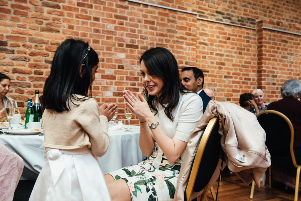 Candid and fun guest photography, Forty Hall wedding