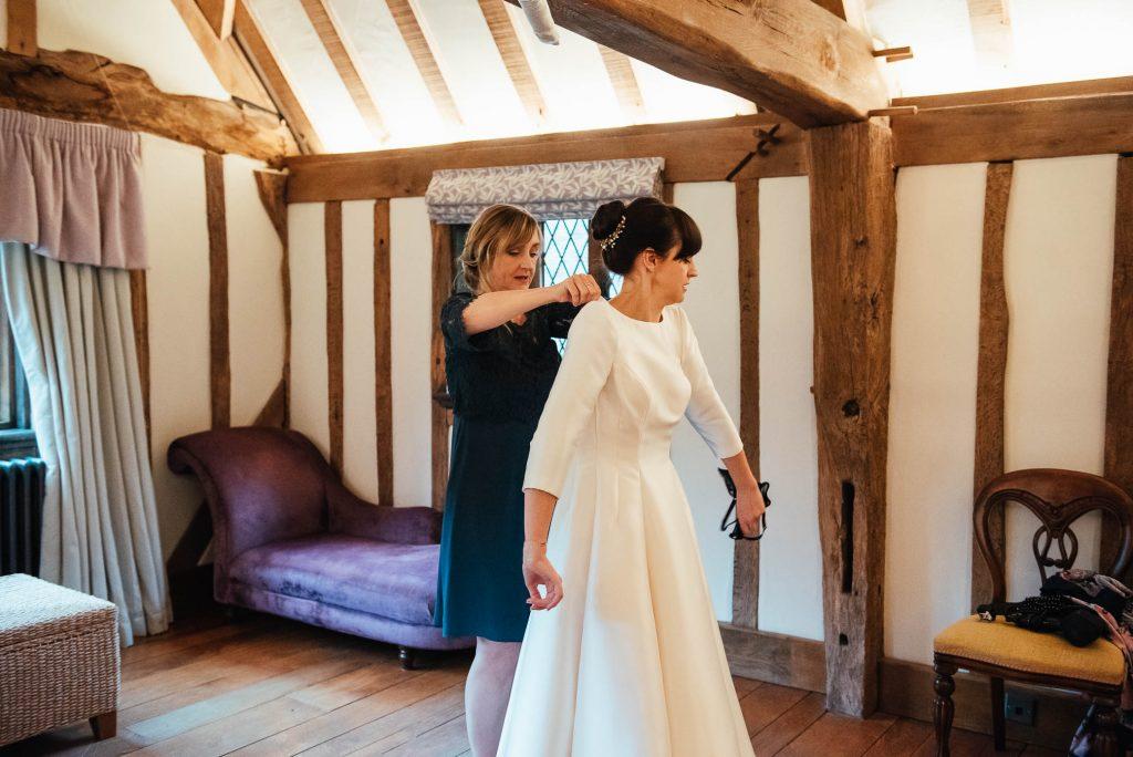 Bridal prep photography for Cain Manor wedding