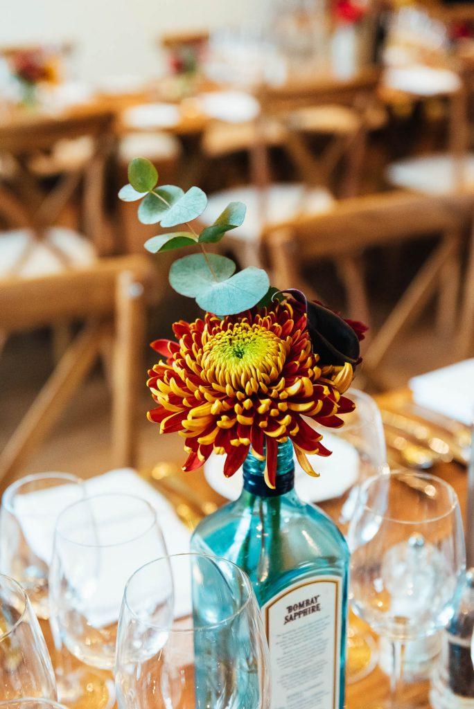 Gorgeous exotic floral arrangement
