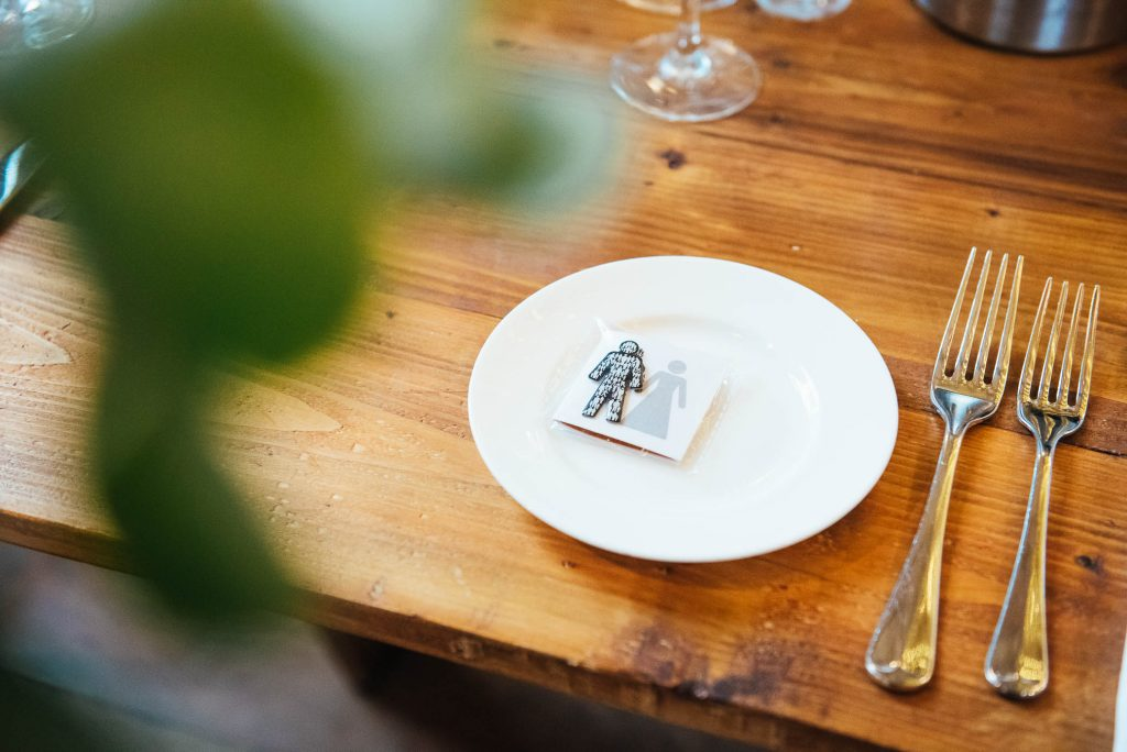 Wedding favours for Prostate Cancer