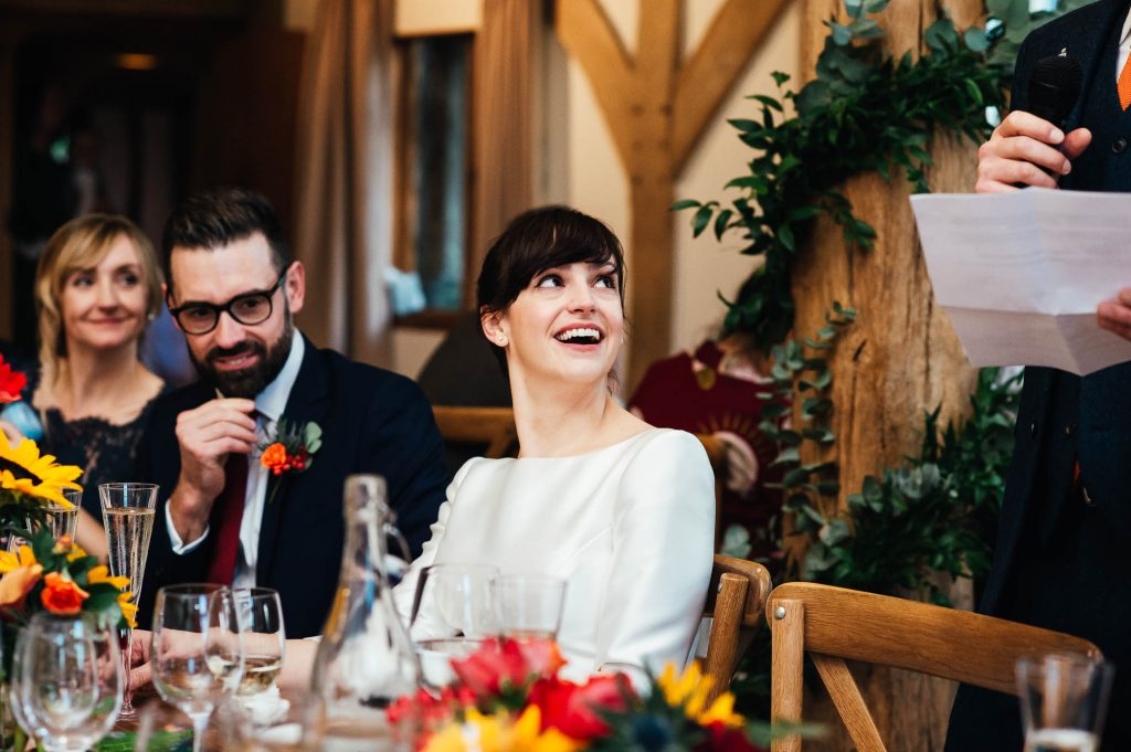 Fun and candid speech photography