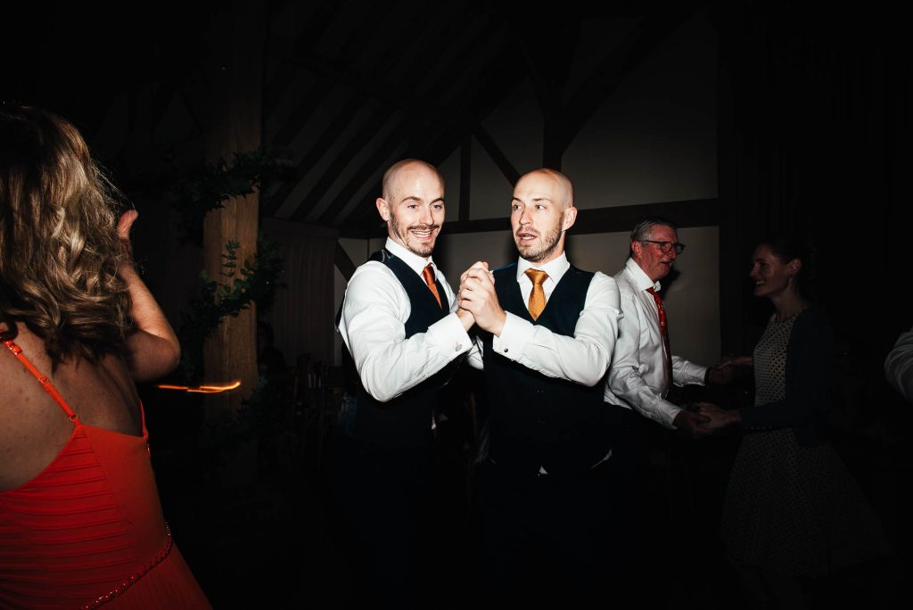 Fun dance floor photography