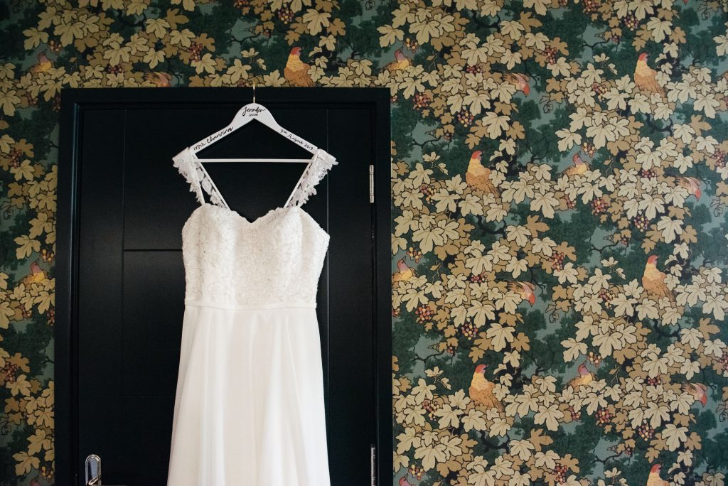Mori Lee wedding dress by Madeline Gardener