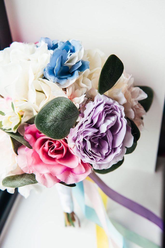 Handmade Wedding Bouquet made from Paper