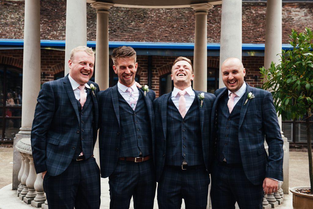 Wedding group photography Surrey