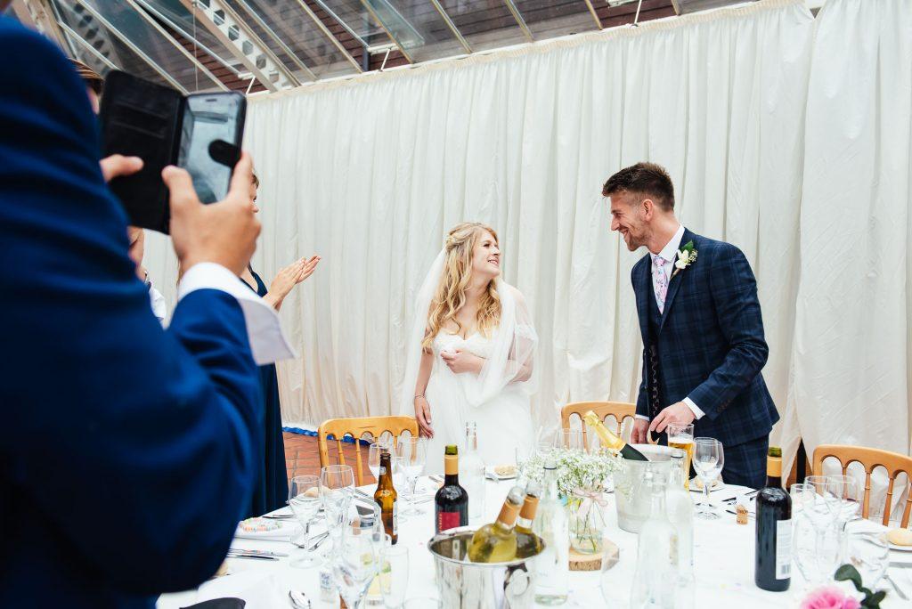 Fun Denbies Wine estate wedding photography