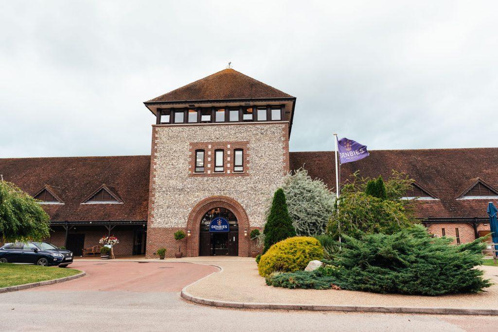 Exterior of Denbies Wine estate wedding venue