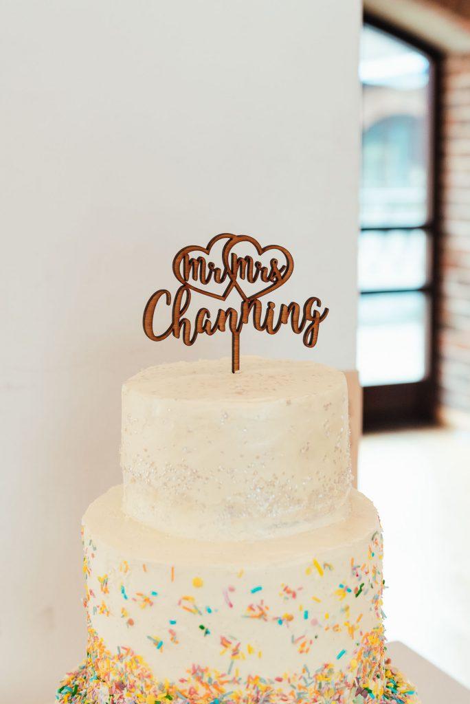 Bespoke wedding cake topper