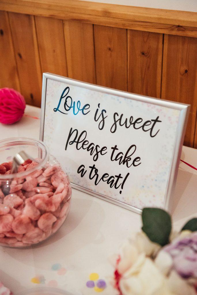 Bespoke sweet table