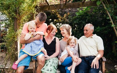 Surrey Family Photography – Relaxed Family Photoshoot at Home