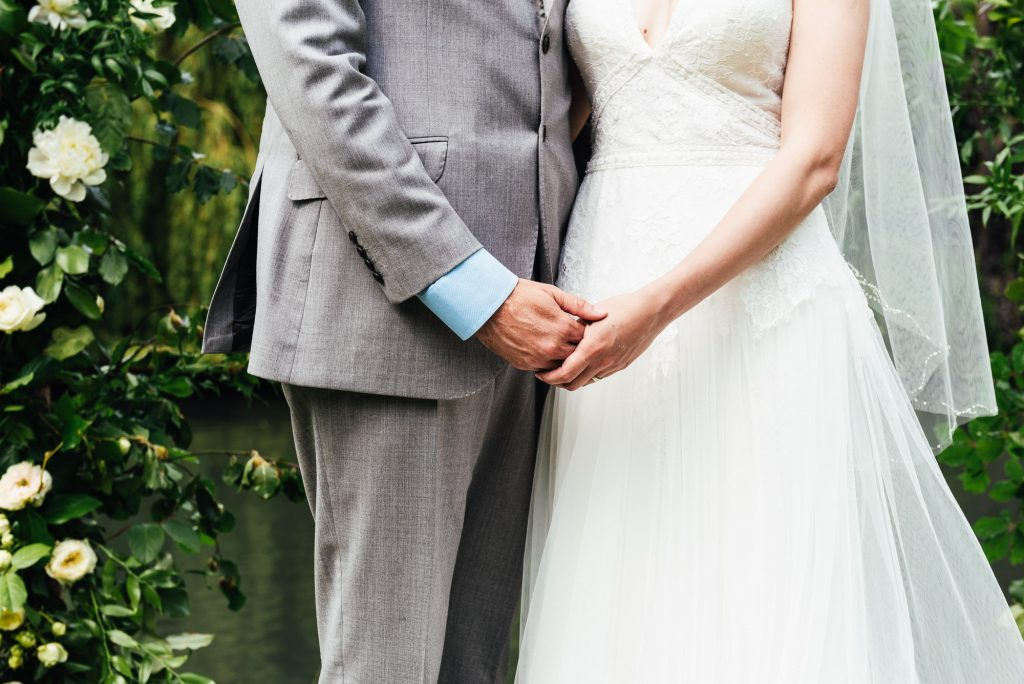 Creative wedding photography Surrey