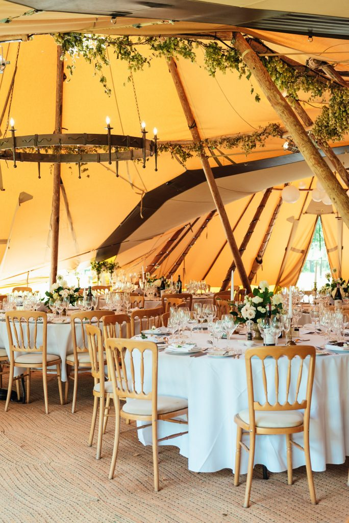 Tipi Wedding Decoration
