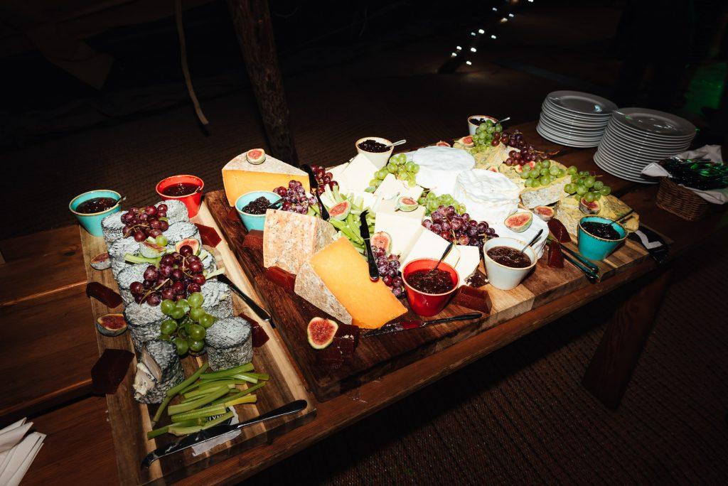 Wedding evening food