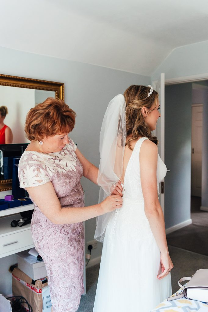 Natural bridal preparation photography Surrey