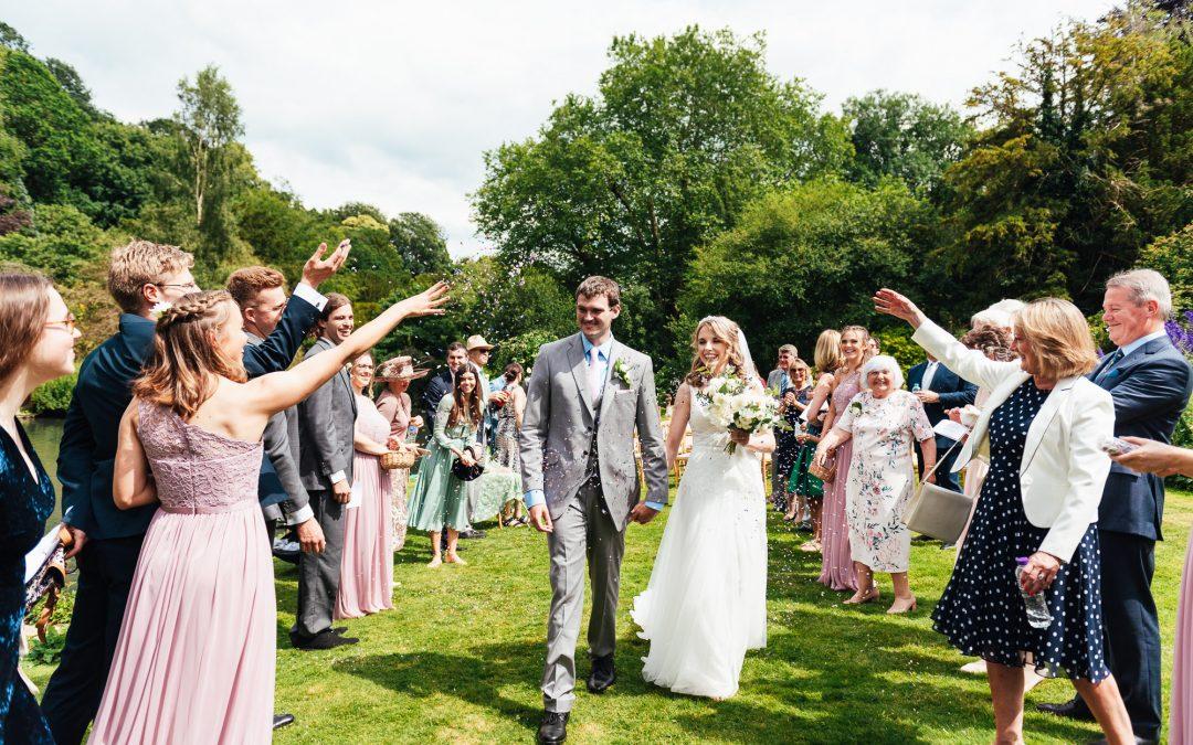 Surrey Wedding Photography – Outdoor Busbridge Lakes Wedding