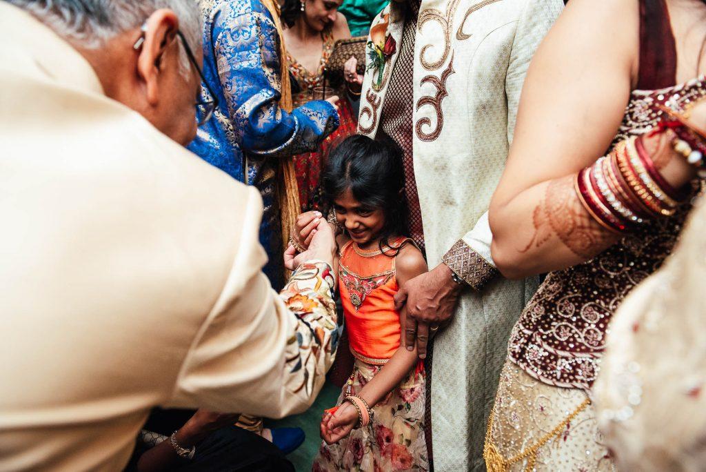 Lively wedding dance floor, South Farm Wedding