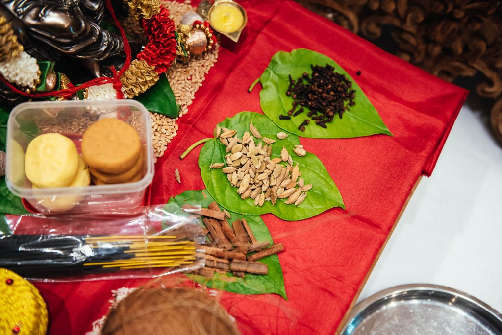 Indian ceremony, South Farm Wedding