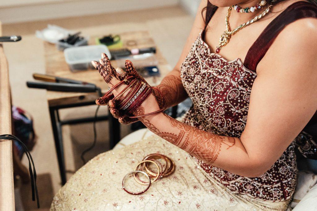 Relaxed wedding preparation photography, South Farm Wedding
