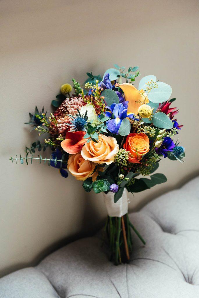 Colourful Bridal Bouquet