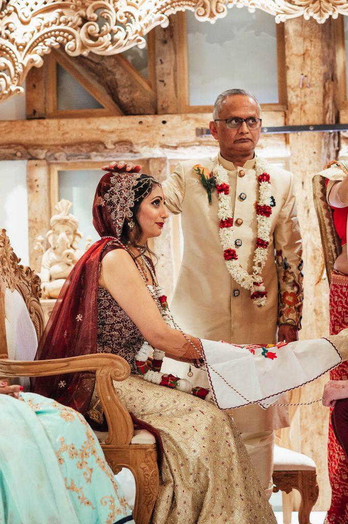 Hindu wedding ceremony rituals, South Farm Wedding
