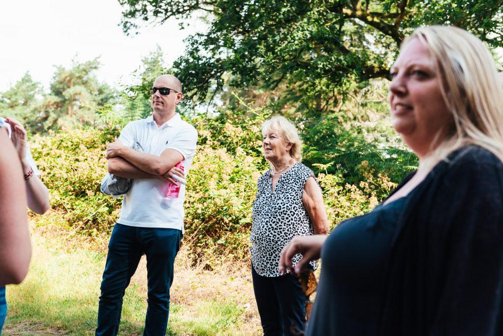 Documentary family photo shoot at Chantry Wood