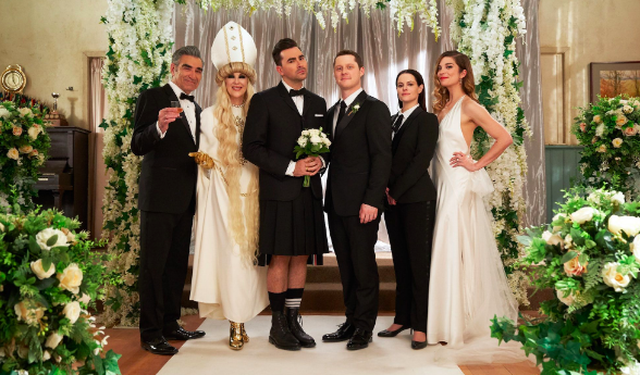 What Schitt's Creek Can Teach Us About Postponed COVID Weddings
