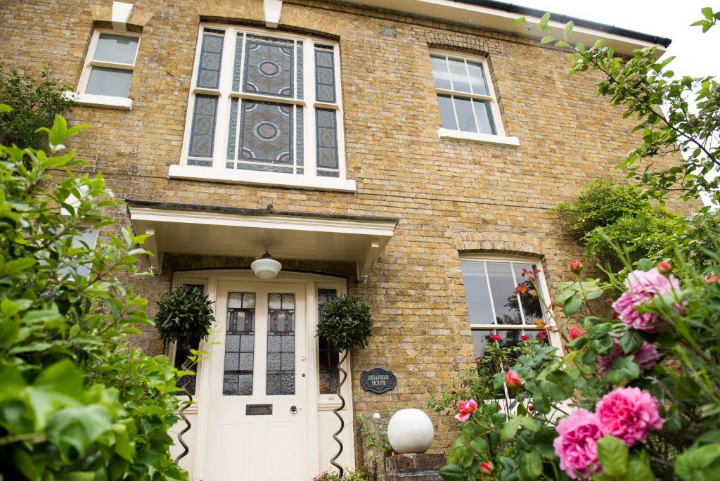 Exterior of quaint London home