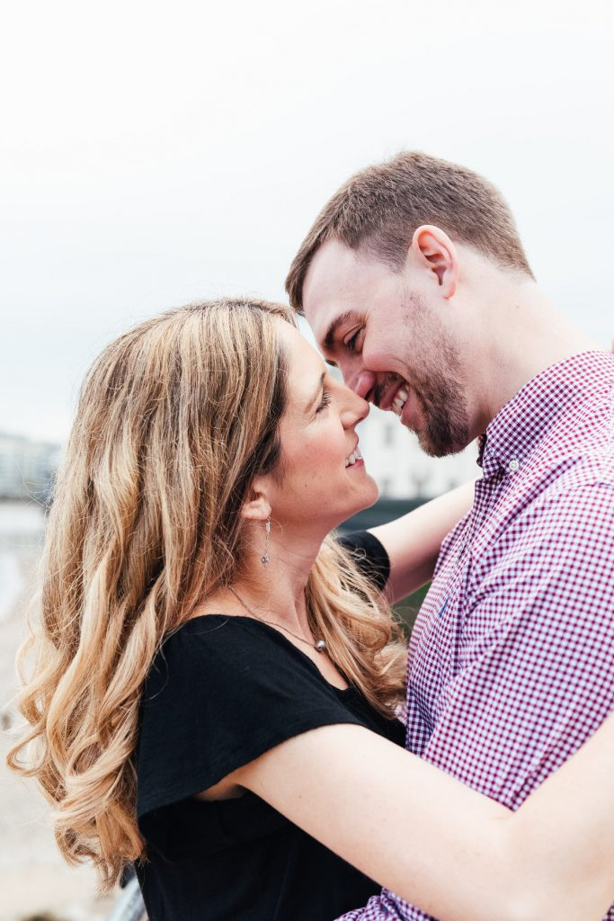 Romantic and Intimate Couples London pre-wedding shoot