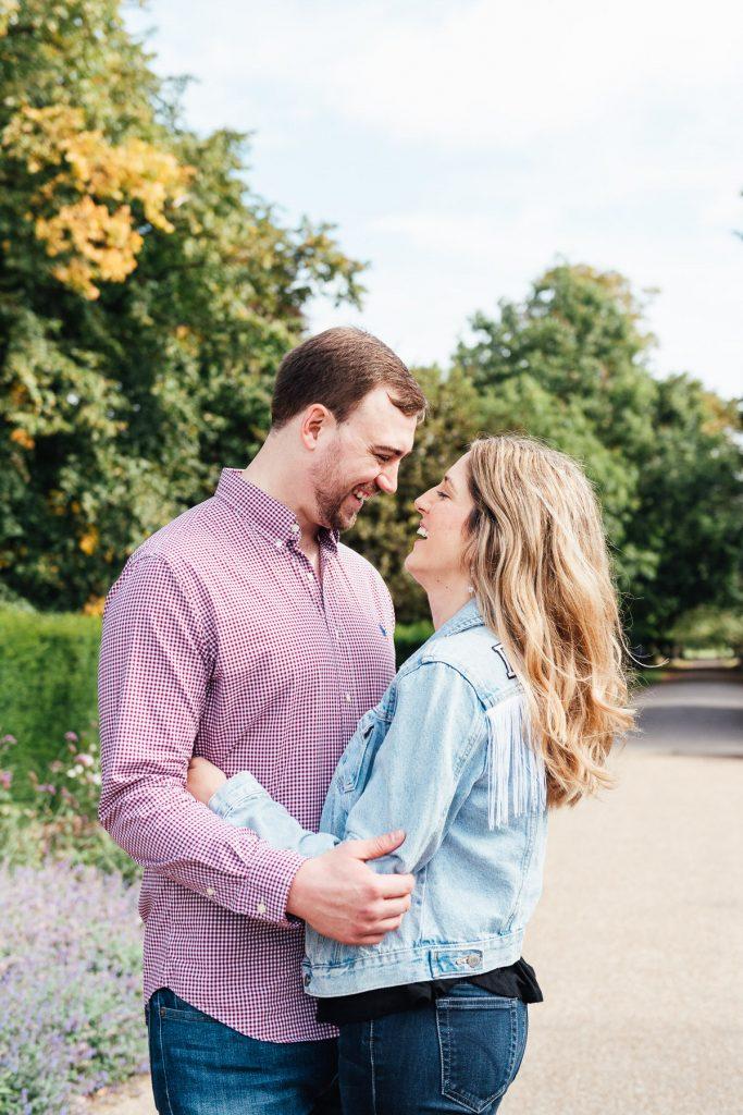 Natural couples portrait photography, London
