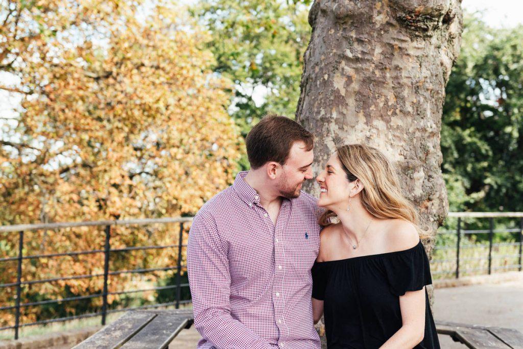 London couples engagement shoot, Greenwich Park