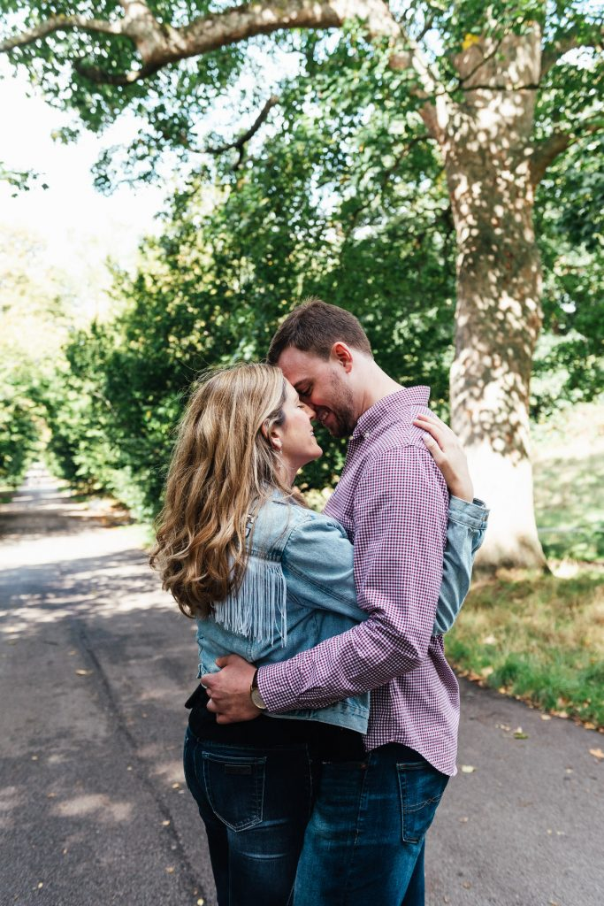 Relaxed and Romantic Couples Portrait