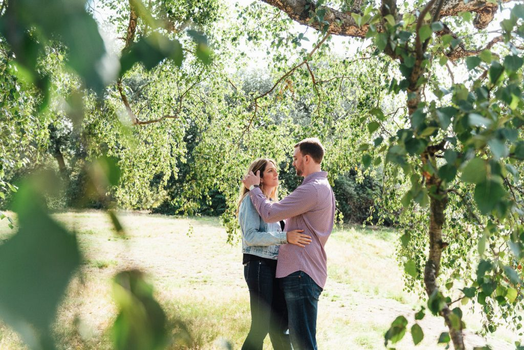 Outdoor Dreamy Engagement Photoshoot