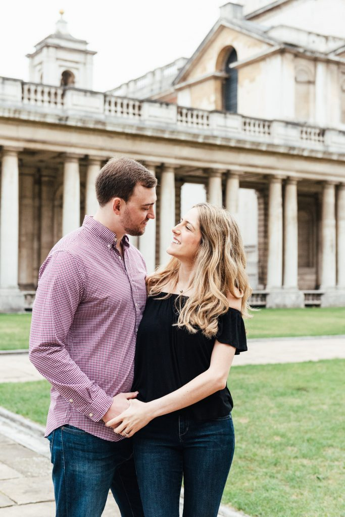 Relaxed Greenwich Naval College Engagement Shoot