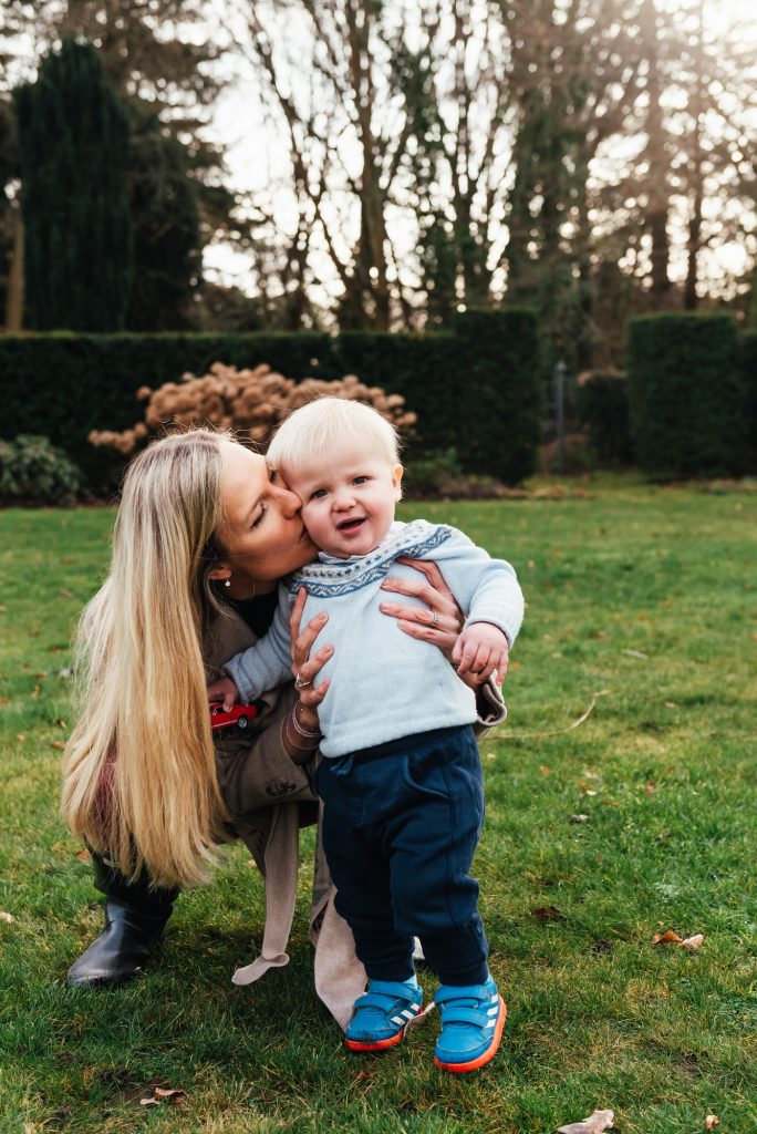 Mother and Son Natural Portrait, Danish Family Photography at Home