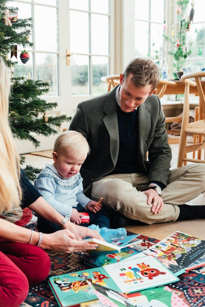 Christmas Danish Family Photography at Home