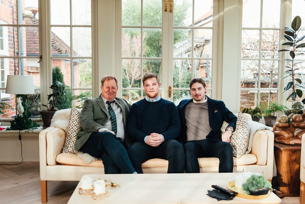 Danish Family Portrait at Home, Surrey Family Photography