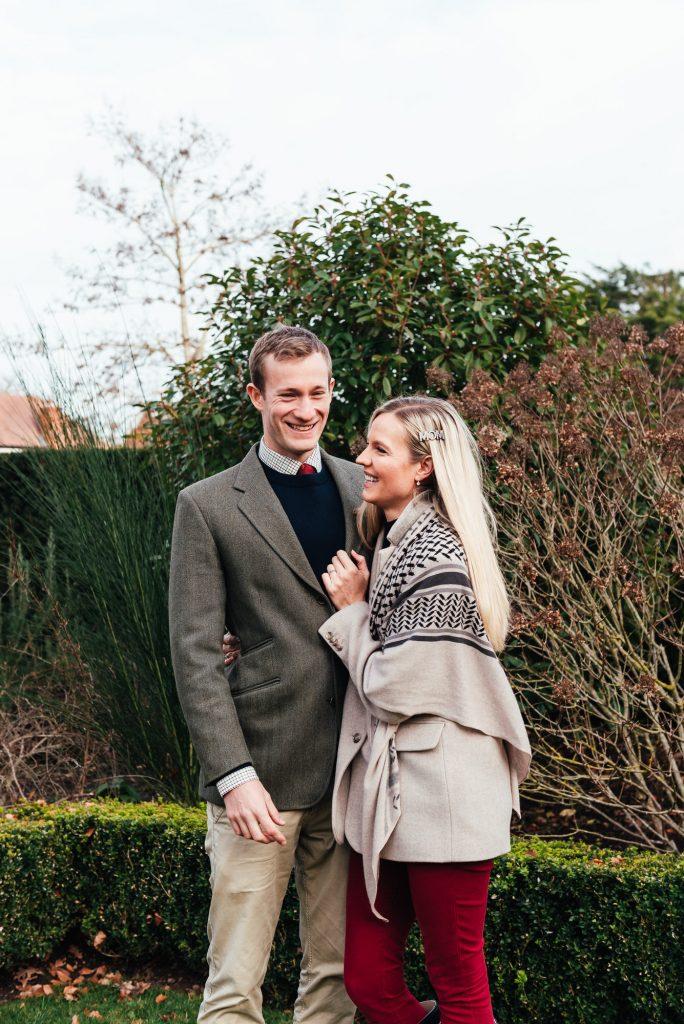 Fun couples portrait, Surrey family photographer