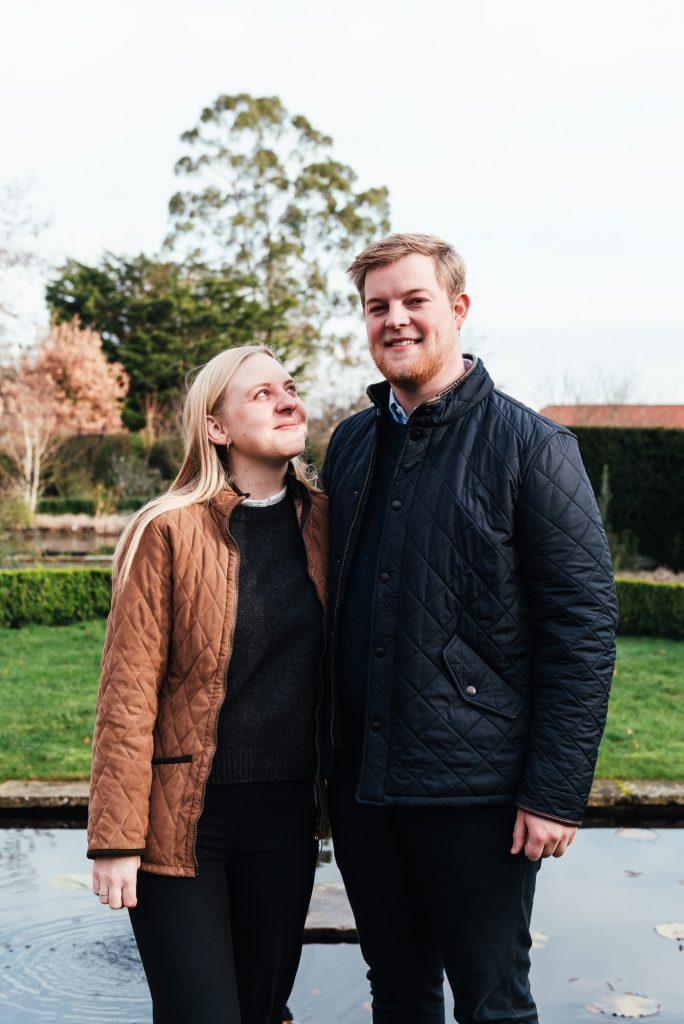 Natural couples portrait photography, Surrey