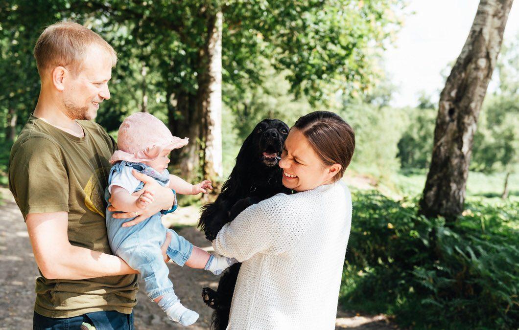 Surrey Family Photography – Holmbury Hill Family Shoot