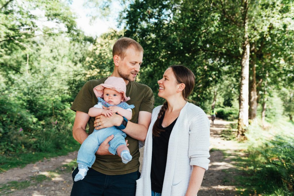 Fun and candid family photography, Surrey