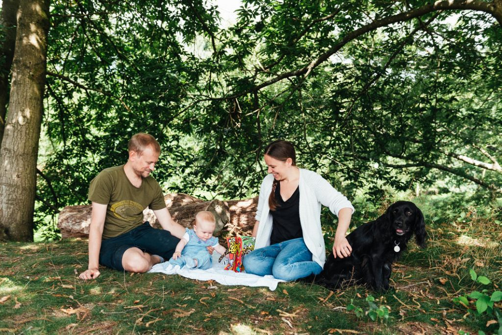 Natural documentary family photography, Surrey family photography