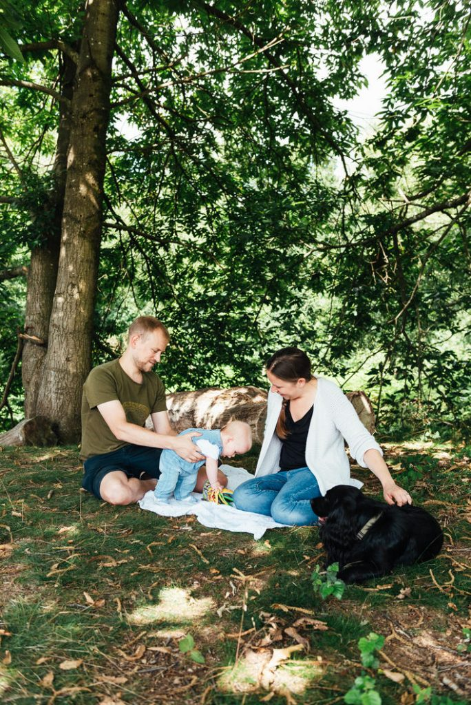 Woodland family photography Surrey