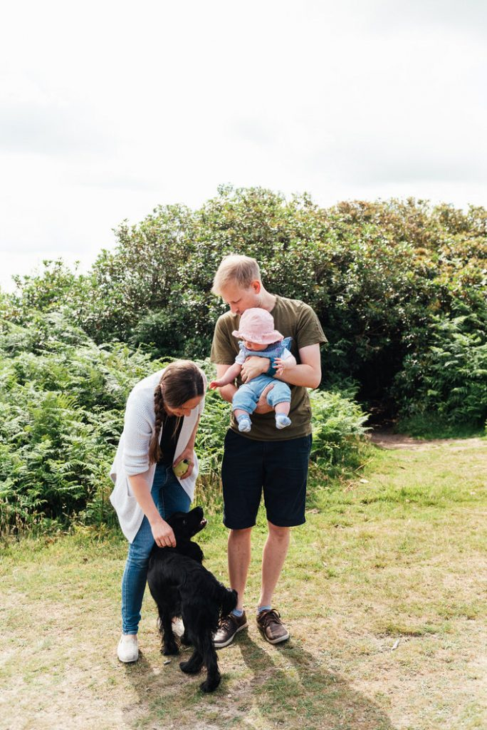 Natural family portrait, Surrey family photography