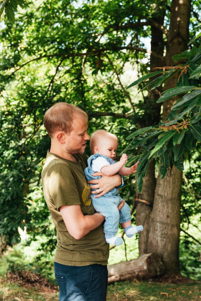 Natural and relaxed family photography